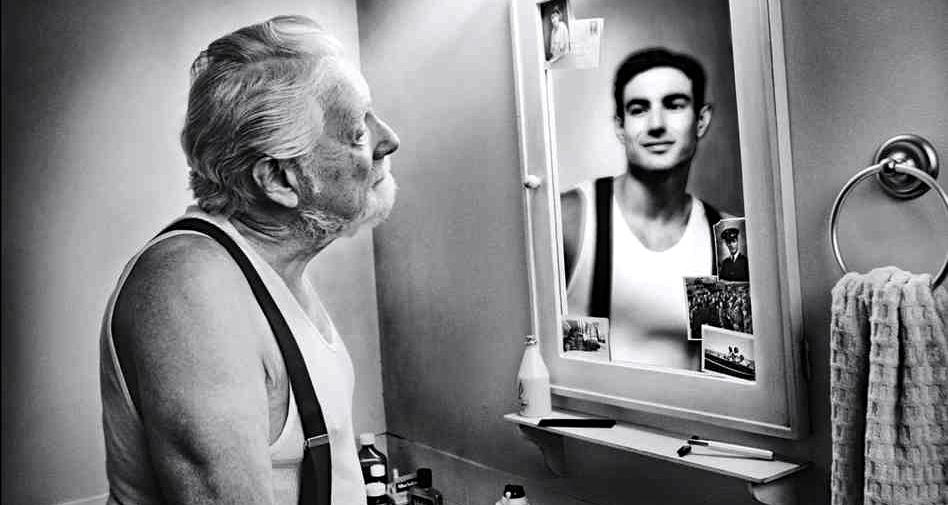 In mirror Nude Photos 7