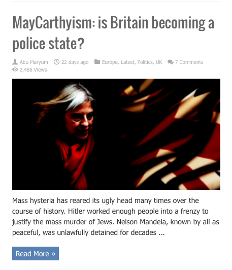 MayCarthysism
