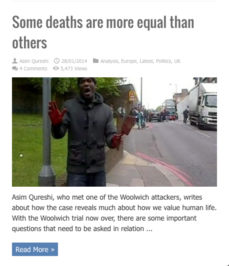SOME DEATHS ARE MORE EQUAL