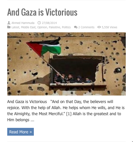 and gaza is victorious
