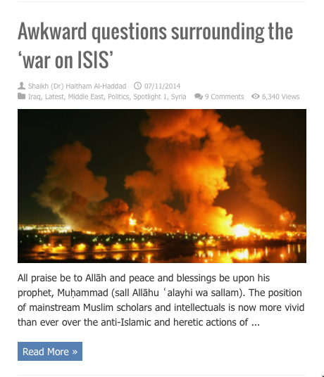 awkward questions on war on isis