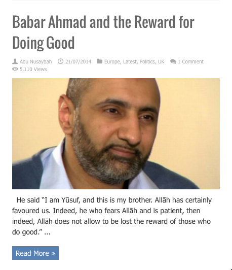 babar ahmed reward for doing good