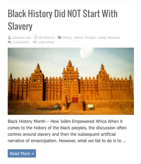 black history did not start with slavery