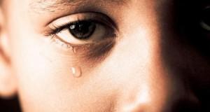 child tear