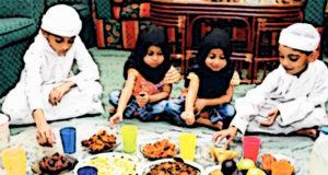 children fasting