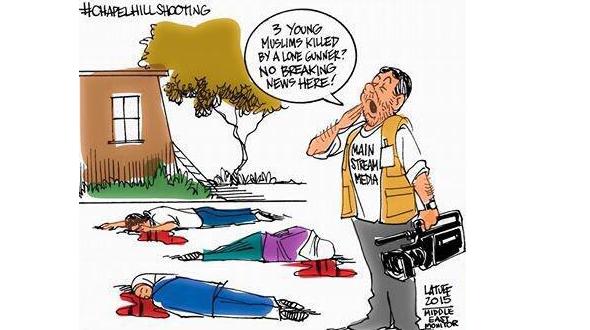 Chapelhillshooting The Media Complicity In The Murder Of Muslim Students Complicity