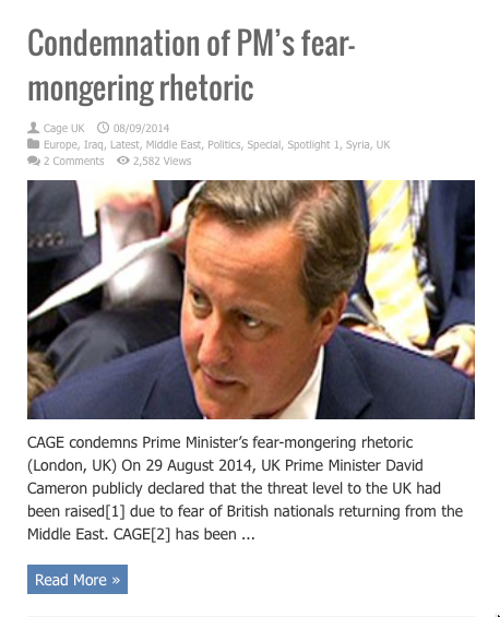 condemnation of pms fearmongering rhetoric