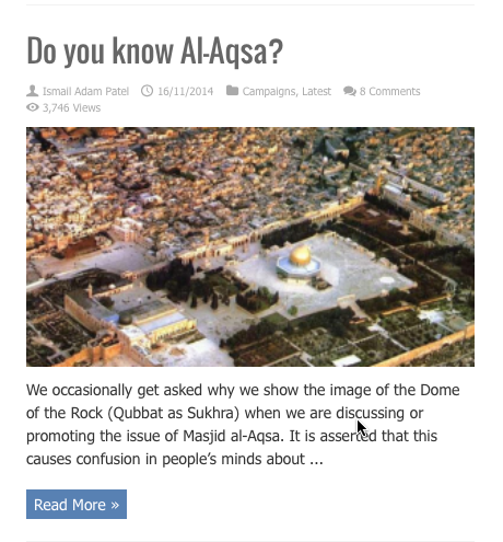 do you know al aqsa