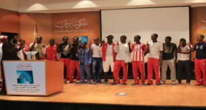 football team from cameroon use