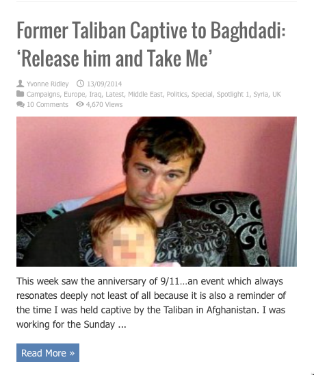 former taliban captive release him