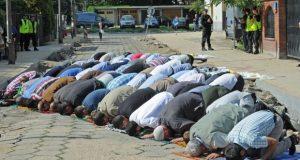 Poland Muslim Protest