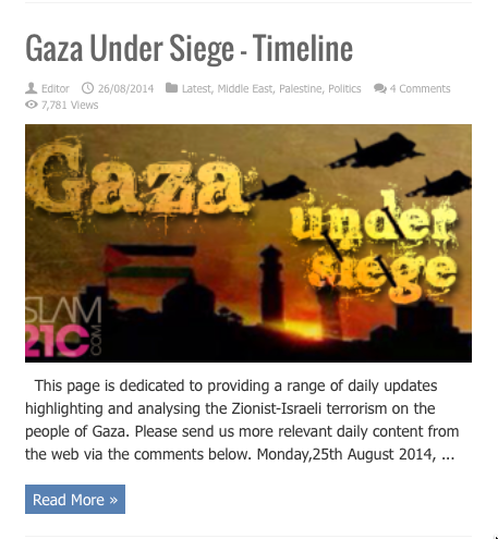 gaza timeline