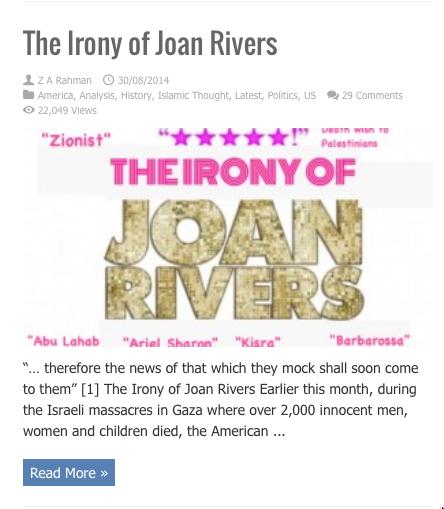 irony of joan rivers