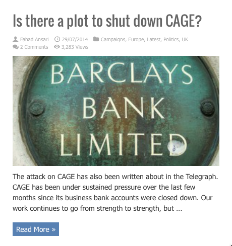 is there a plot to shut down cage