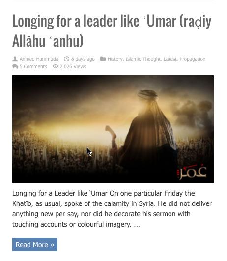 leader like omar