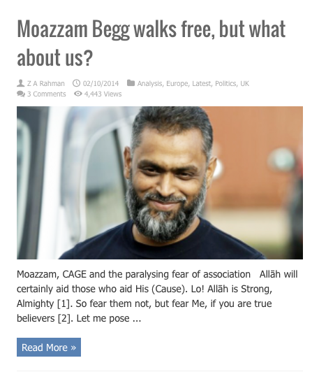 moazzam begg walks free but what about us