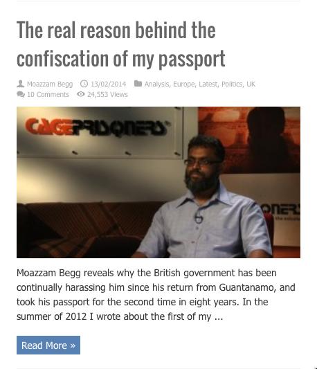 moazzam real reason