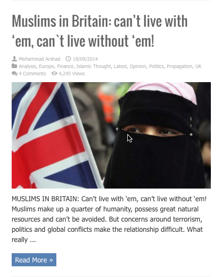 muslims in uk cant live with em without em