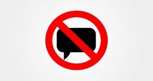 no speech