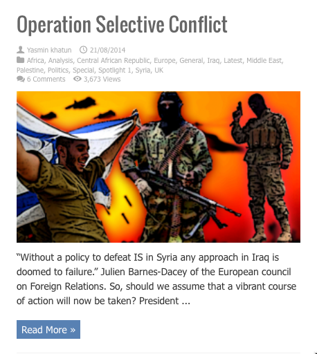 operation selective conflict