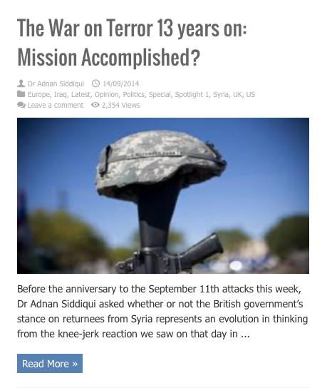 war on terror 13 years mission accomplished