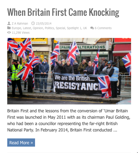 when britain first came knocking
