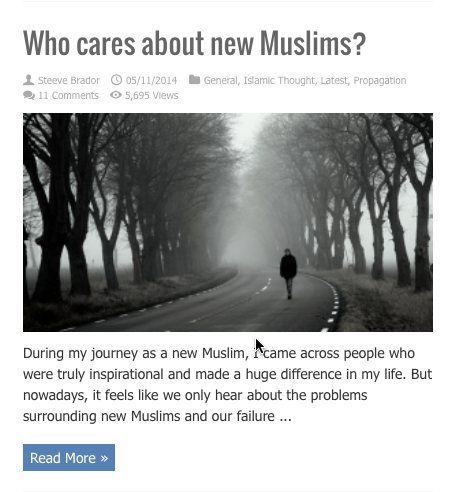 who cares about new muslims